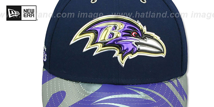 Ravens '2017 LOW-CROWN SPOTLIGHT' Fitted Hat by New Era