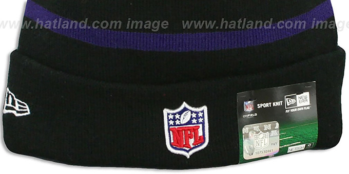 Ravens 'BCA CRUCIAL CATCH' Knit Beanie Hat by New Era