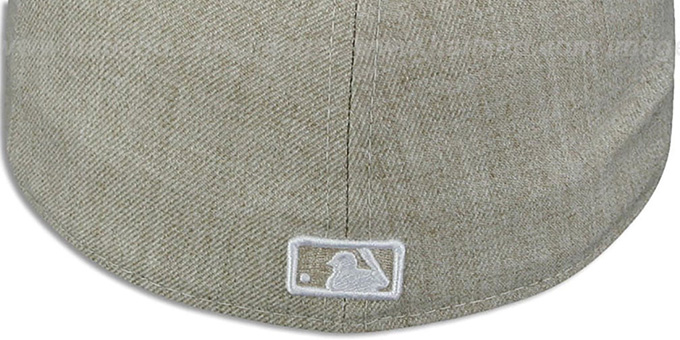 Red Sox  '2T-HEATHER' Oatmeal-Army Fitted Hat by New Era