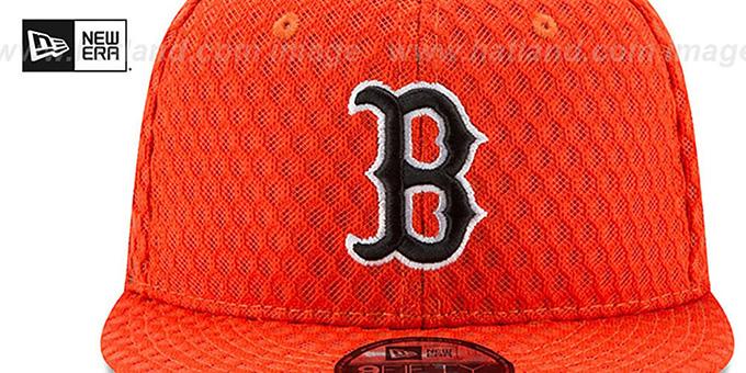 e1170379ac8c2c ... Red Sox '2017 MLB HOME RUN DERBY SNAPBACK' Orange Hat by New Era ...