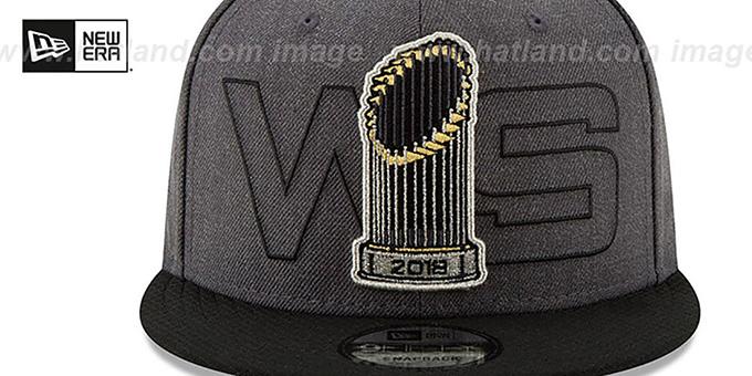 watch 4978c f2bf3 ... Red Sox  2018 WORLD SERIES PARADE SNAPBACK  Grey-Black Hat by New Era  ...