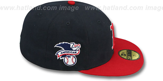 Red Sox 'BAYCIK' Navy-Red Fitted Hat by New Era