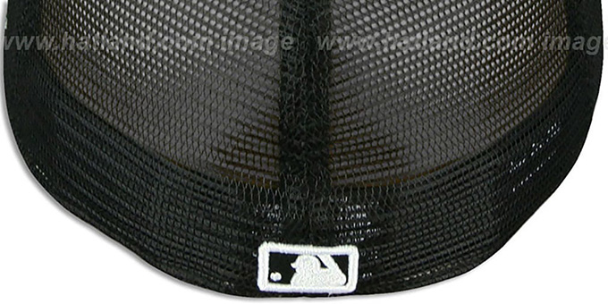 Red Sox 'MLB FLOCKING' Mesh Back Fitted Hat by New Era