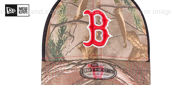 Red Sox 'REALTREE NEO MESH-BACK' Flex Hat by New Era