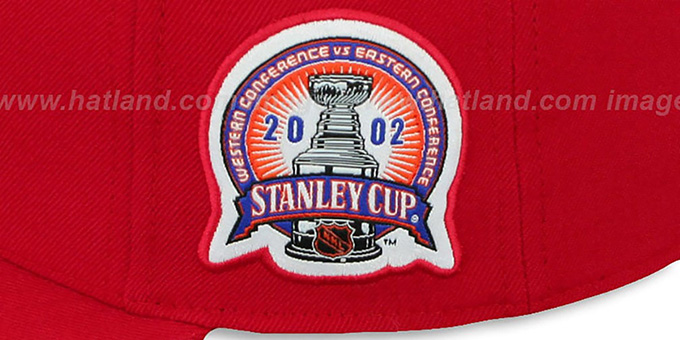 Red Wings 2002 'COMMEMORATIVE CHAMPS' Hat by Mitchell & Ness