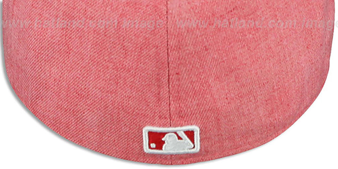 Reds '2T-HEATHER' Red-Black Fitted Hat by New Era