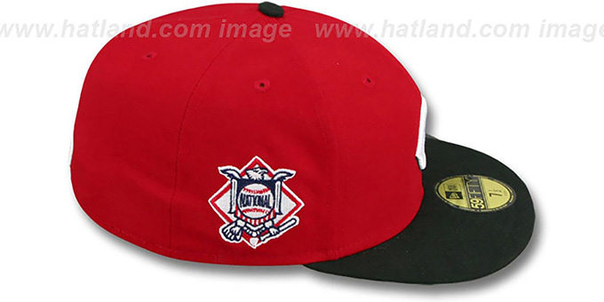 Reds 'BAYCIK' Red-Black Fitted Hat by New Era