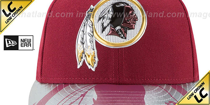 Redskins '2017 LOW-CROWN SPOTLIGHT' Fitted Hat by New Era