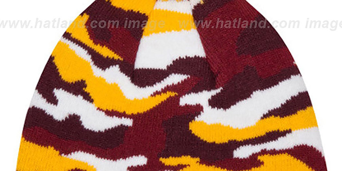 Redskins 'CAMO CAPTIVATE' Knit Beanie Hat by New Era