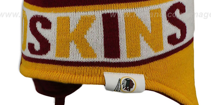 Redskins 'CRAYON BOX' Knit Beanie Hat by New Era