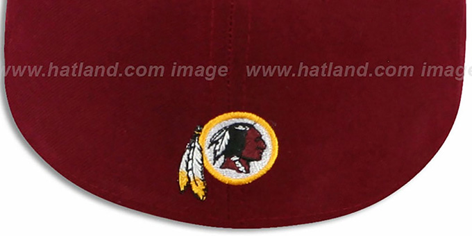 Redskins 'ILLUSION' Burgundy Fitted Hat by New Era