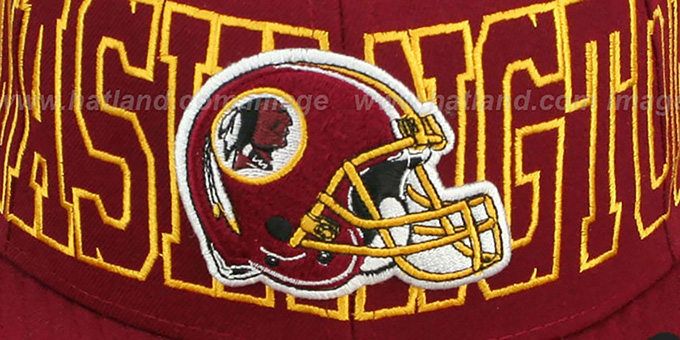 Redskins 'NFL WRAP-IT-UP' Burgundy Fitted Hat by New Era