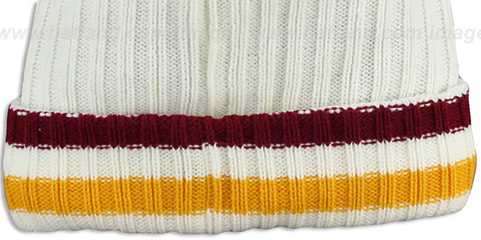 Redskins 'YESTER-YEAR' Knit Beanie Hat by New Era