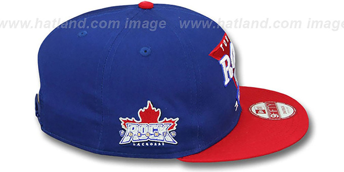 Rock 'TEAM ANGLE' 9FIFTY Snapback Hat by New Era