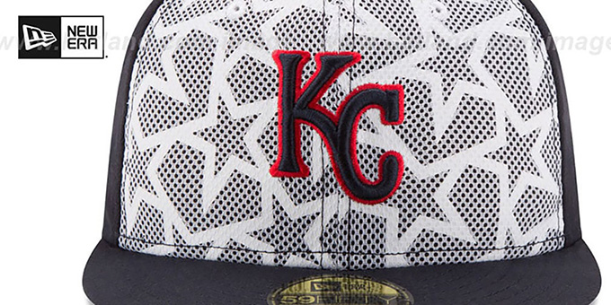 315ea6852ee ... Royals  2016 JULY 4TH STARS N STRIPES  Fitted Hat by New Era ...