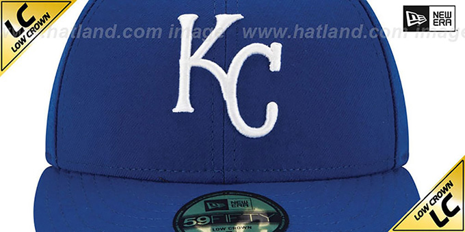Royals 'LOW-CROWN' GAME Fitted Hat by New Era