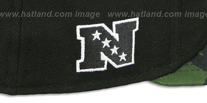 Saints 'NFL CAMO-BRIM SNAPBACK' Adjustable Hat by New Era