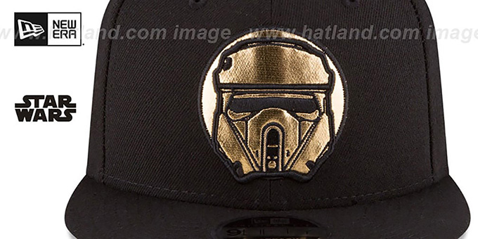 Scarif Trooper 'HERO-FOIL SNAPBACK' Black Hat by New Era
