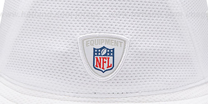Seahawks '2014 NFL TRAINING BUCKET' White Hat by New Era