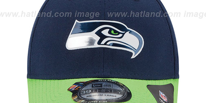 Seahawks '2015 NFL DRAFT FLEX' Hat by New Era
