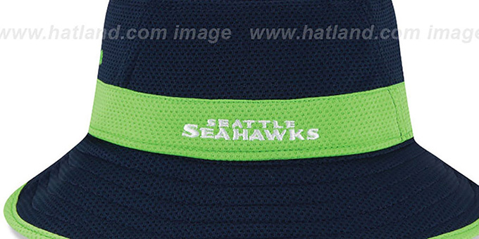 Seahawks '2015 NFL TRAINING BUCKET' Navy Hat by New Era