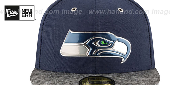 Seattle Seahawks 2016 NFL DRAFT Fitted Hat by New Era 7ff8254d019c