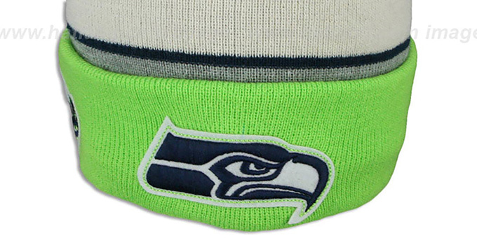 Seahawks 'WINTER TRADITION' Knit Beanie Hat by New Era
