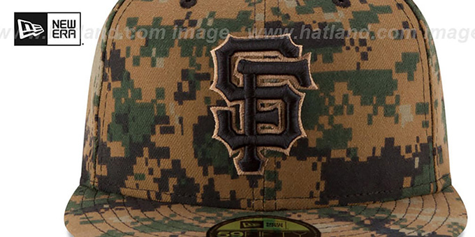 SF Giants 2016 MEMORIAL DAY 'STARS N STRIPES' Hat by New Era