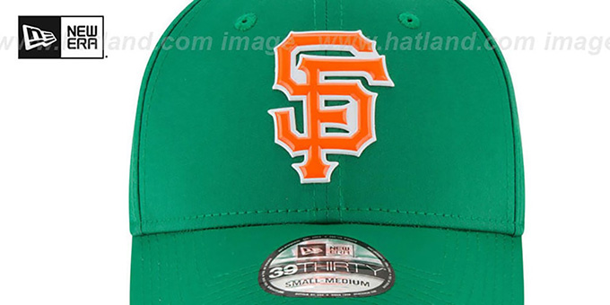 SF Giants '2018 ST PATRICKS DAY FLEX' Hat by New Era