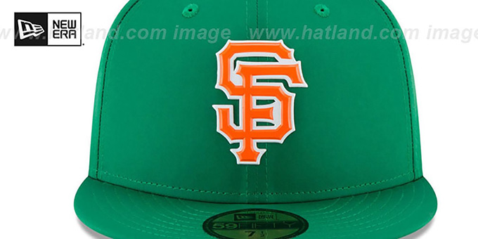 SF Giants '2018 ST PATRICKS DAY' Hat by New Era