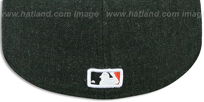 SF Giants '2T-HEATHER ACTION' Charcoal-Orange Fitted Hat by New Era
