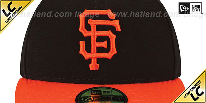 SF Giants 'LOW-CROWN' ALTERNATE Fitted Hat by New Era