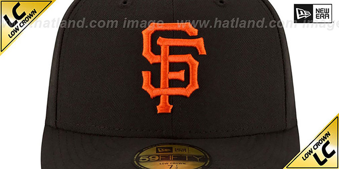 SF Giants 'LOW-CROWN' GAME Fitted Hat by New Era