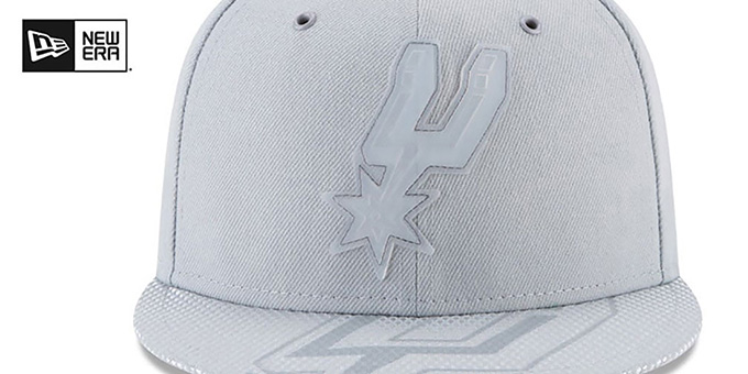 Spurs '2018 NBA ONCOURT ALL-STAR' Grey Fitted Hat by New Era