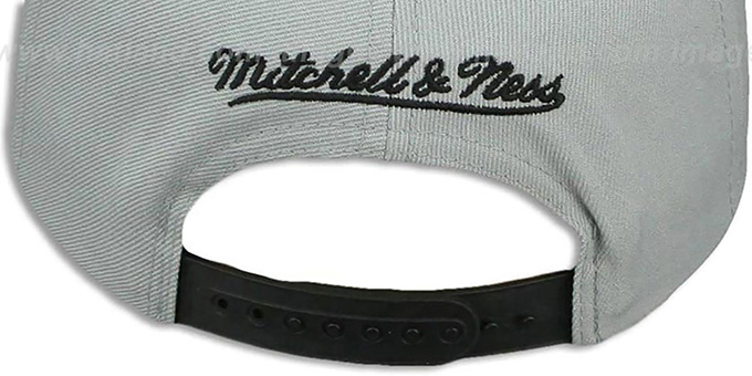 Spurs 'KNIT-WEAVE SNAPBACK' Grey-Multi Hat by Mitchell and Ness