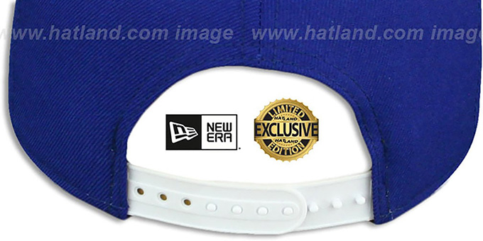 Spurs 'TEAM-BASIC SNAPBACK' Royal-White Hat by New Era