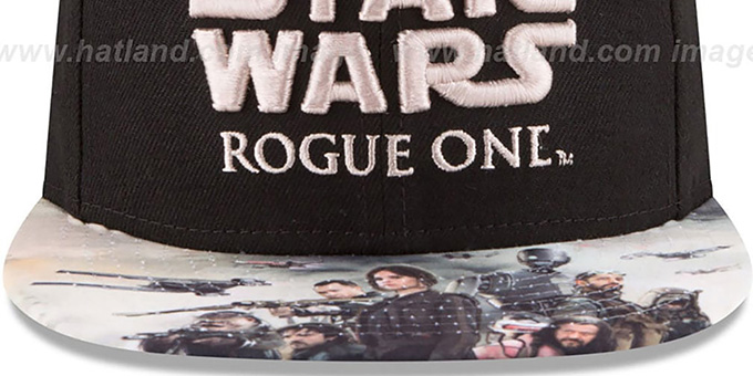 Star Wars 'ROGUE ONE HERO SNAPBACK' Black Hat by New Era