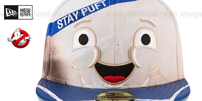 Stay Puft 'CHARACTER FACE' Fitted Hat by New Era