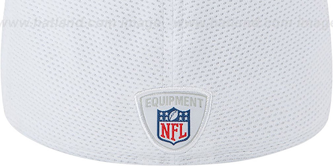 Steelers '2013 NFL TRAINING FLEX' White Hat by New Era