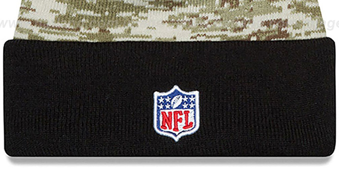 Steelers '2015 SALUTE-TO-SERVICE' Knit Beanie Hat by New Era
