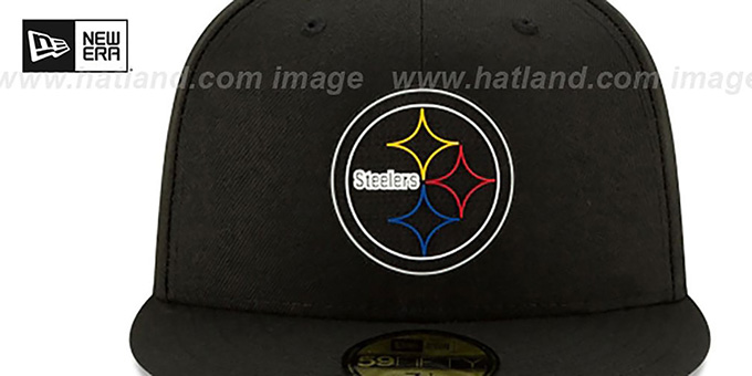 Steelers '2020 NFL VIRTUAL DRAFT' Black Fitted Hat by New Era