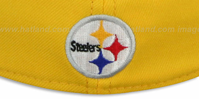 Steelers 'COIN TOSS FLEX' Gold-Black Hat by New Era