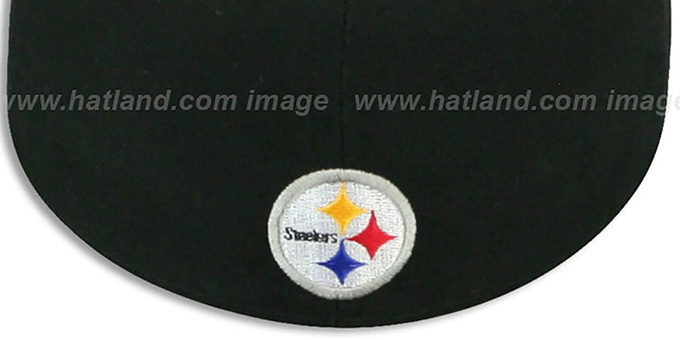 Steelers 'ILLUSION' Black Fitted Hat by New Era