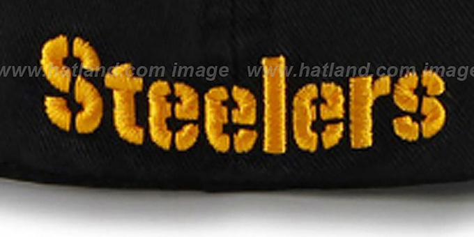 Steelers 'NFL FRANCHISE' Black Hat by 47 Brand