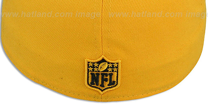 Steelers 'NFL-TIGHT' Gold-Black Fitted Hat by New Era