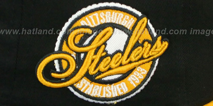 Steelers 'SAID SNAPBACK' Black-Gold Hat by New Era