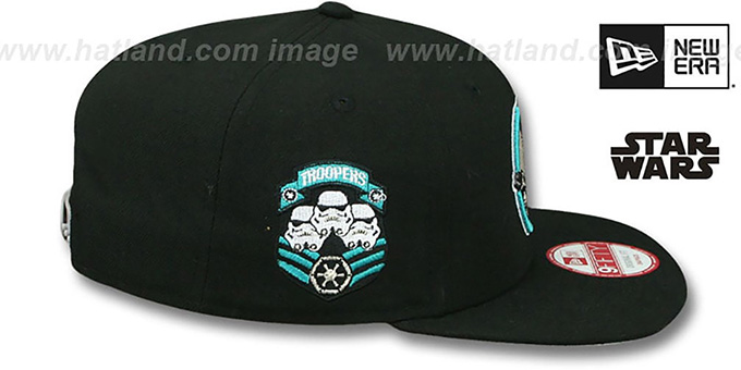 Storm Trooper IV 'RETROFLECT SNAPBACK' Black Hat by New Era