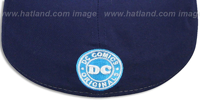 Superman 'PANEL-POP' Blue-Navy Fitted Hat by New Era