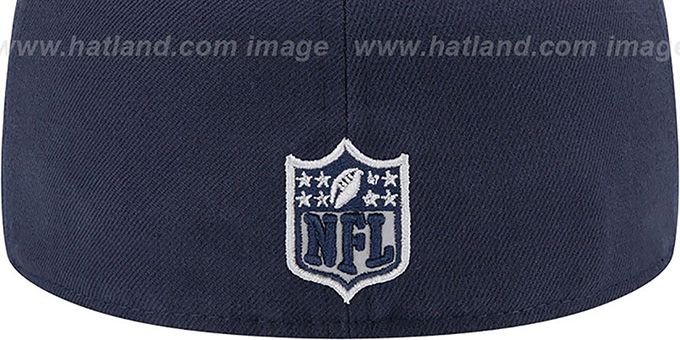 Texans '2014 NFL DRAFT' Navy Fitted Hat by New Era