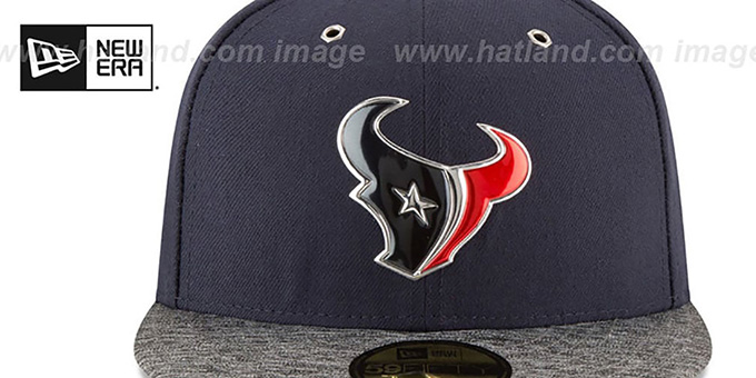 Texans '2016 NFL DRAFT' Fitted Hat by New Era